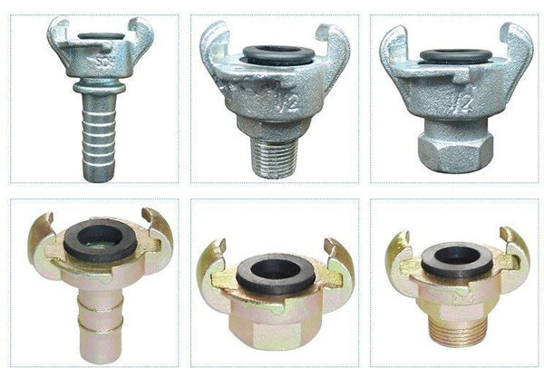Compressor claw couplings