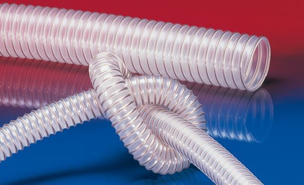 Antistatic food and pharmaceutical hose