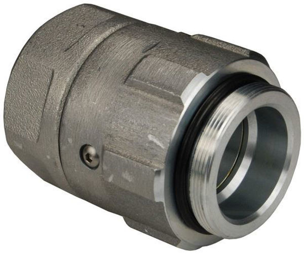 """Picture of 1 1/2"""" BSP Male - Inlet Renco Swivel with Slight Glass"""