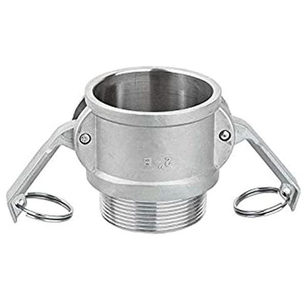 Picture of Female Cam x BSP Male Thread - Camlock Part B - Stainless Steel