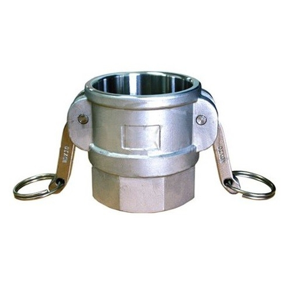 """Picture of 2 1/2"""" (64mm) Female Cam x 2 1/2"""" Female BSP - Part D Stainless Steel"""