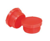 """Picture of 1"""" x 11mm Threaded Protection Plug Red Ldpe, BSP/Gas"""