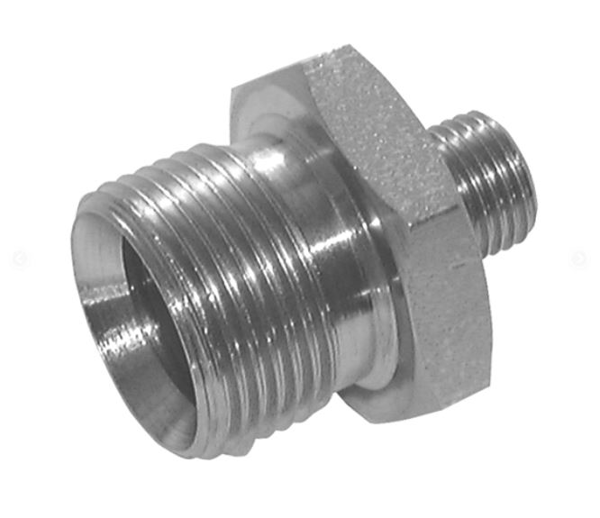 "Picture of 3/8"" BSP Male x 1/4"" BSP Male - Hyd Adaptor"